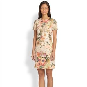 Tory Burch Kaley Floral Tweed Dress Size 2